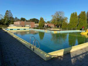 Zwembad lekkage